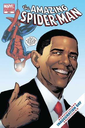 Spider-Man, Barack Obama