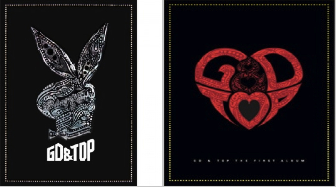 GD &TOP Album Covers